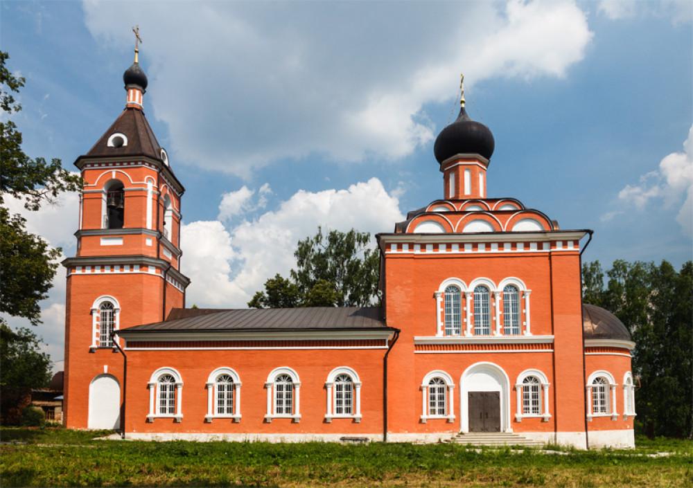 Храм Покрова Пресвятой Богородицы в д. Большое Покровское